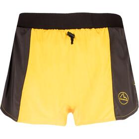 La Sportiva Auster Shorts Heren, zwart/geel